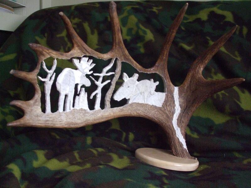 panache d'orignal sculpter (a voir ) Panach46