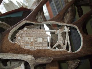 panache d'orignal sculpter (a voir ) Panach49