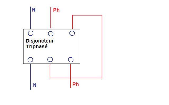 disjoncteur triphasé convertit en monophasé Disj_t12