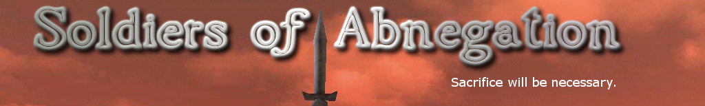 Soldiers of Abnegation [SoA] Clan Forums Soaban10