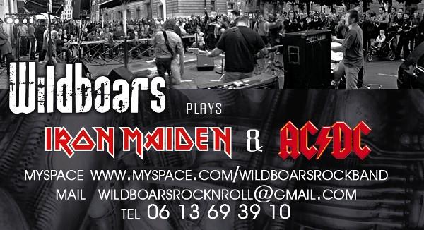 WILDBOARS (Tribute Iron Maiden & AC/DC) Wild1010