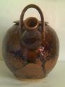 Brown glazed teapot, help needed ID the monogram? Image436