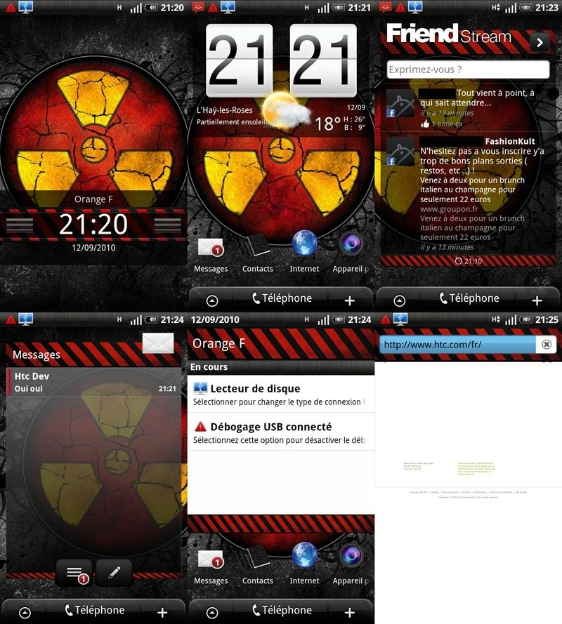 [ROM 2.2][17.09.2010] STiF DESiRE Froyo Sense S v2.1.2 [FRF91] [A2SD+][720p] News Sense S STiF RED EDiTION Screen10
