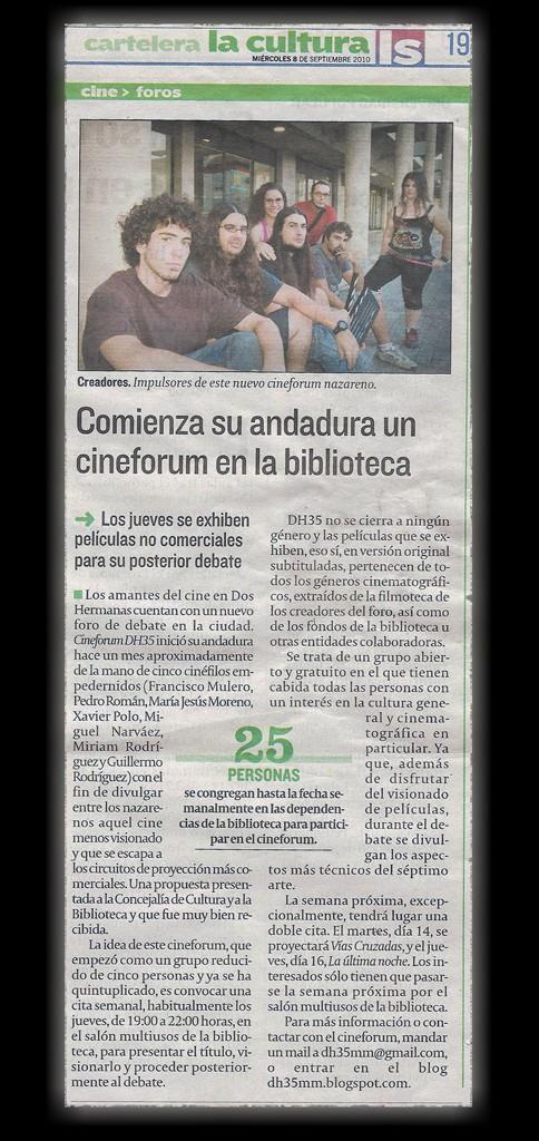 Salimos en el periódico La_sem12