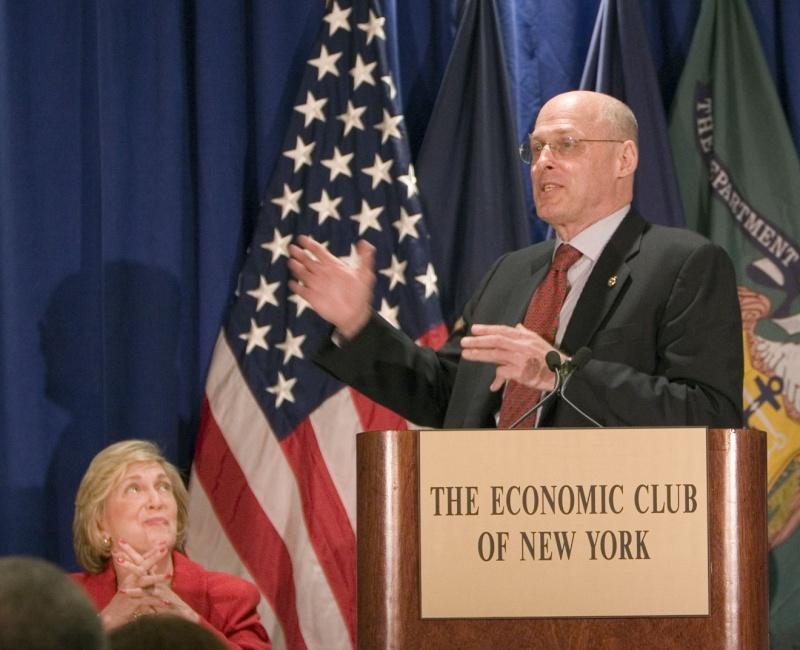 Henry Paulson - Former Goldman Sachs Executive & US Treasury Secretary Paulso11