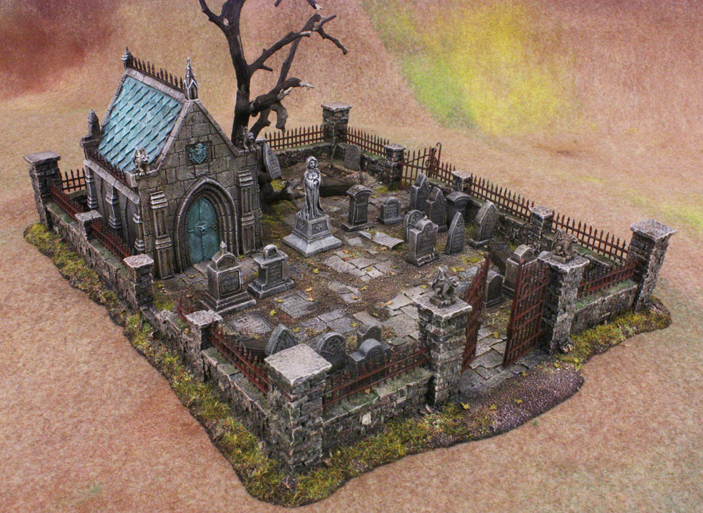 cimetière de chez Table top Gravey10