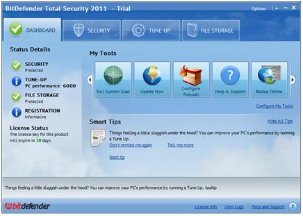 BitDefender Total Security 2011 Beta Bitdef10