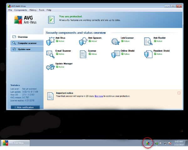 AVG Anti-Virus 9.0 Trial version Enjoy-10