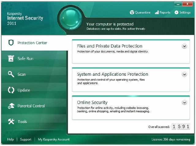 Kaspersky  Security 2011 Kasper11