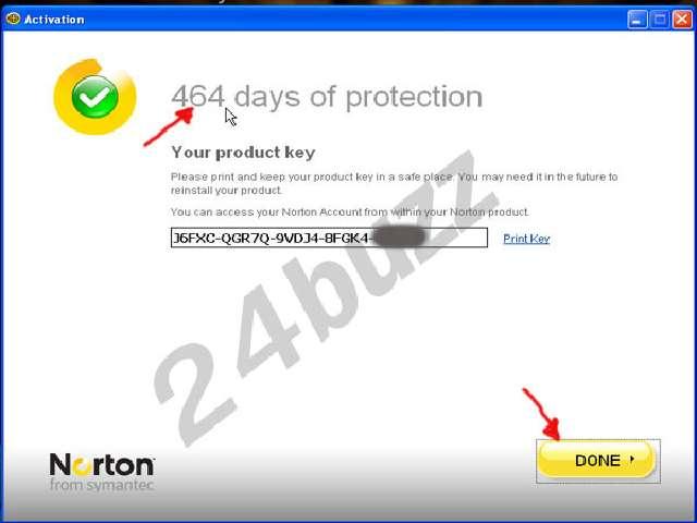 key Norton Internet Security 2010 j bo 464 roja   Key_no27