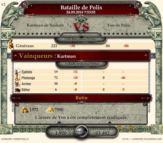 Les Rapport de Combat (RC) Rappor12