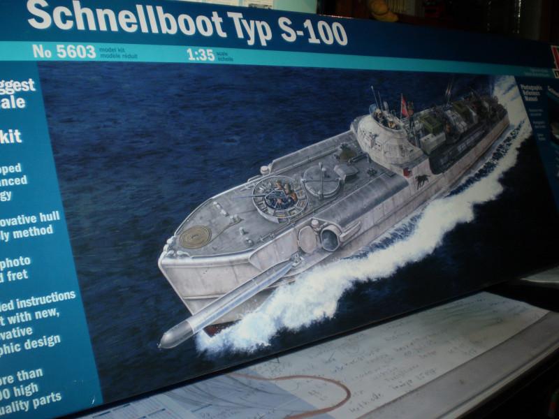 Schnellboot  S-100 in 1:35 P9150010