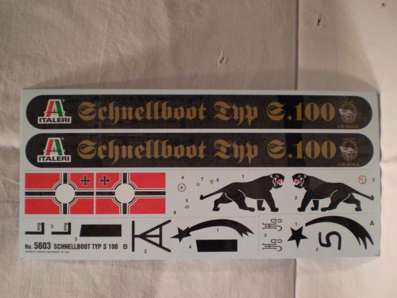 Schnellboot  S-100 in 1:35 P9180017