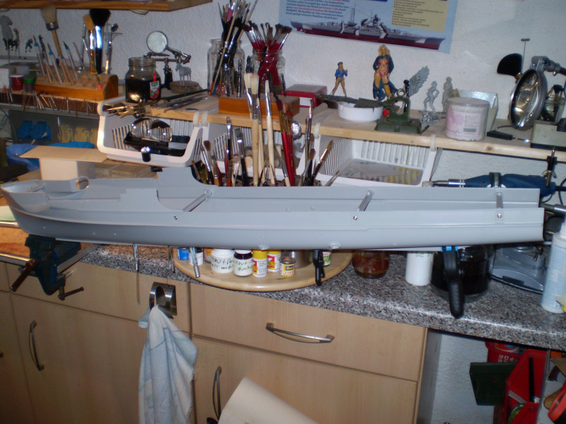 Schnellboot  S-100 in 1:35 P9230011