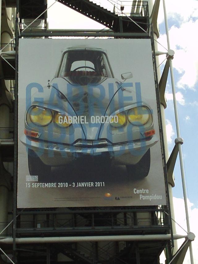 DS au centre Pompidou à Paris  Zi6_1214