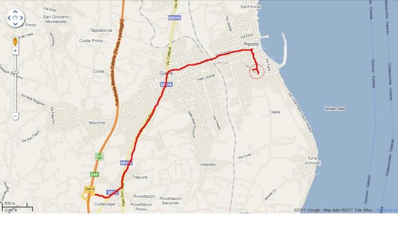 21 maggio 2011 - Gita Sociale sulla FCE Mappa10