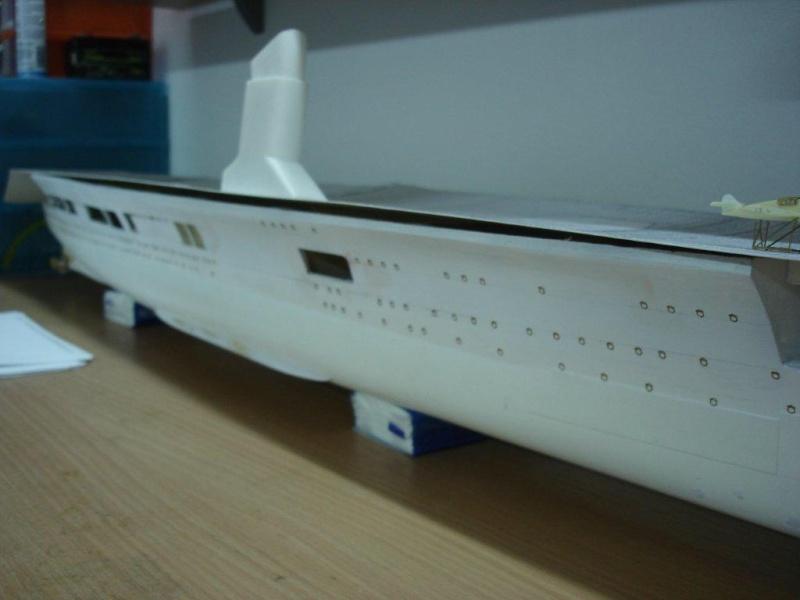 Umbau Seydlitz zum Flugzeugträger Weser Maßstab 1:200 B11