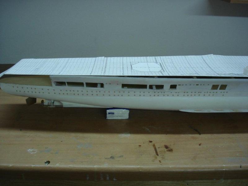 Umbau Seydlitz zum Flugzeugträger Weser Maßstab 1:200 G10