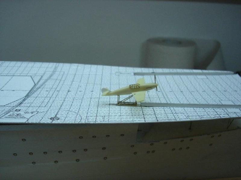 Umbau Seydlitz zum Flugzeugträger Weser Maßstab 1:200 J10
