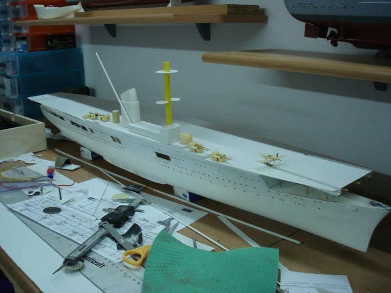 Umbau Seydlitz zum Flugzeugträger Weser Maßstab 1:200 Trager10