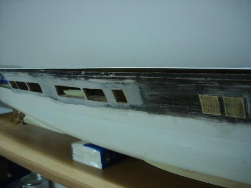 Umbau Seydlitz zum Flugzeugträger Weser Maßstab 1:200 We1710