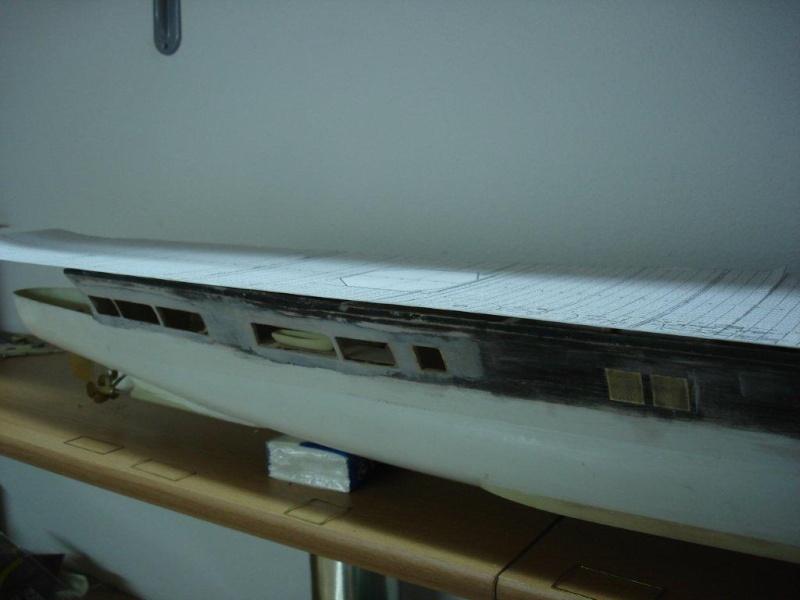 Umbau Seydlitz zum Flugzeugträger Weser Maßstab 1:200 We1810