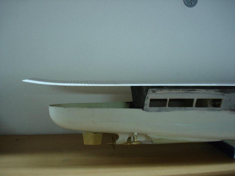 Umbau Seydlitz zum Flugzeugträger Weser Maßstab 1:200 We1910