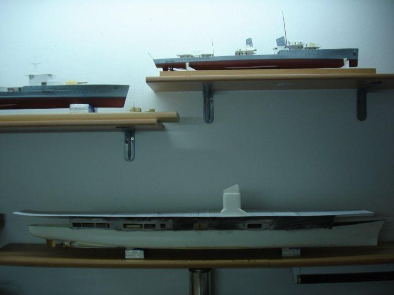 Umbau Seydlitz zum Flugzeugträger Weser Maßstab 1:200 We211