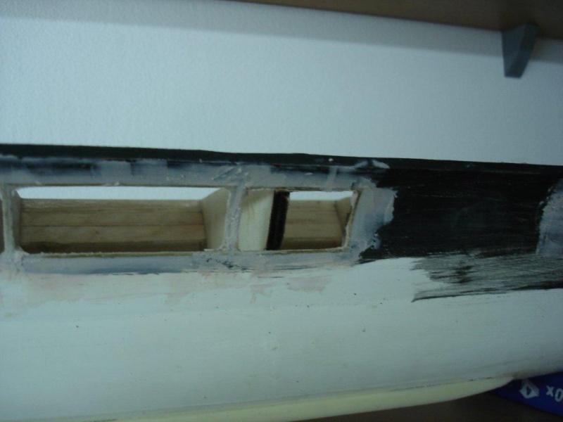 Umbau Seydlitz zum Flugzeugträger Weser Maßstab 1:200 We3010