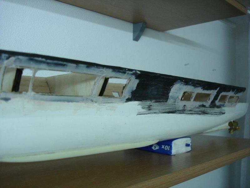 Umbau Seydlitz zum Flugzeugträger Weser Maßstab 1:200 We3310