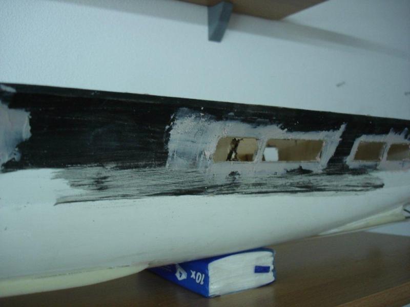 Umbau Seydlitz zum Flugzeugträger Weser Maßstab 1:200 We3410