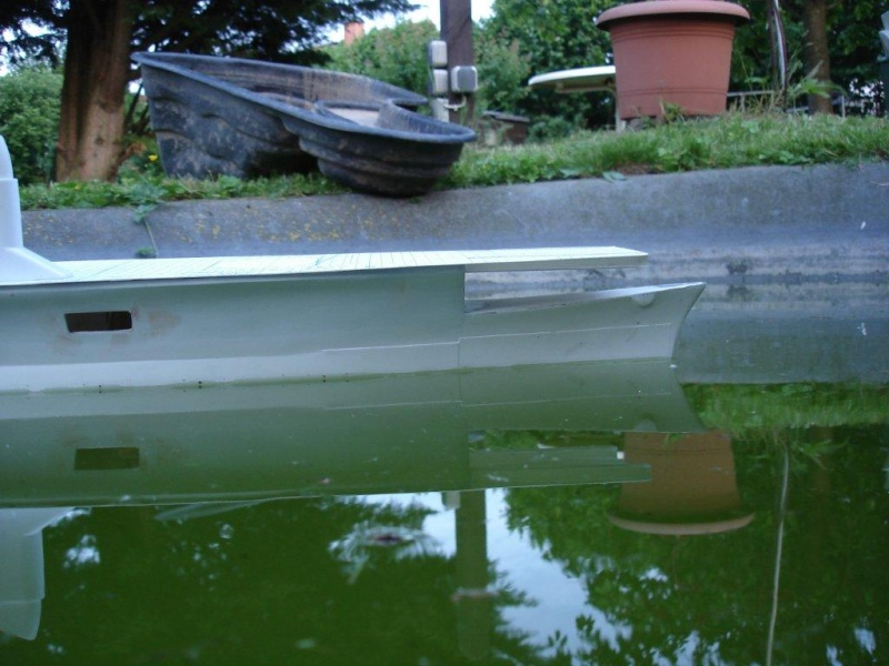 Umbau Seydlitz zum Flugzeugträger Weser Maßstab 1:200 We411