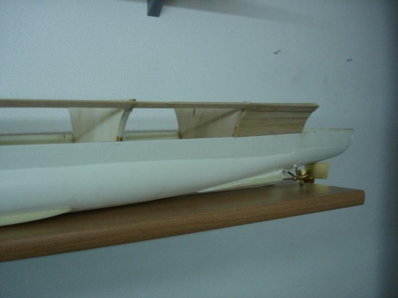 Umbau Seydlitz zum Flugzeugträger Weser Maßstab 1:200 We610