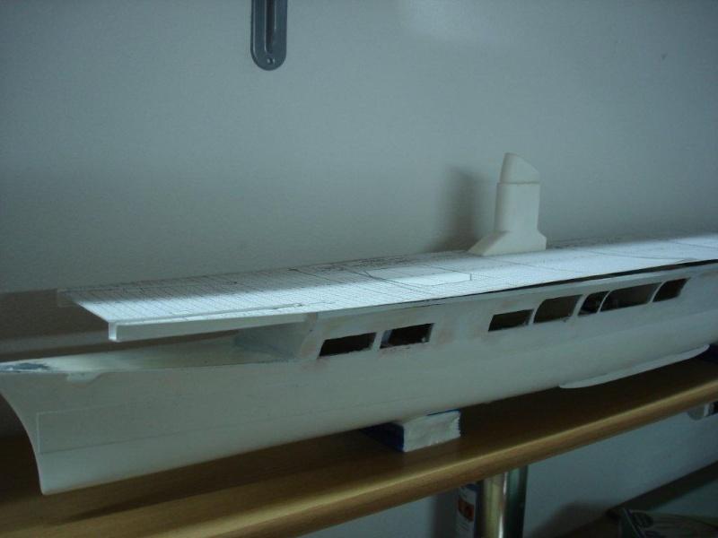 Umbau Seydlitz zum Flugzeugträger Weser Maßstab 1:200 We611