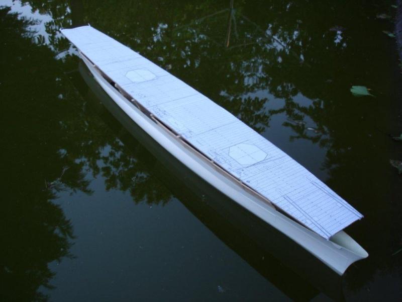 Umbau Seydlitz zum Flugzeugträger Weser Maßstab 1:200 We810