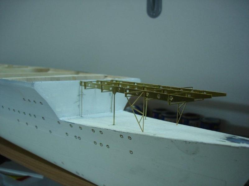 Umbau Seydlitz zum Flugzeugträger Weser Maßstab 1:200 Weser210