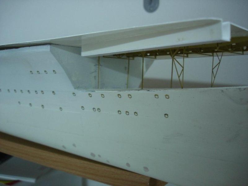 Umbau Seydlitz zum Flugzeugträger Weser Maßstab 1:200 Weser910