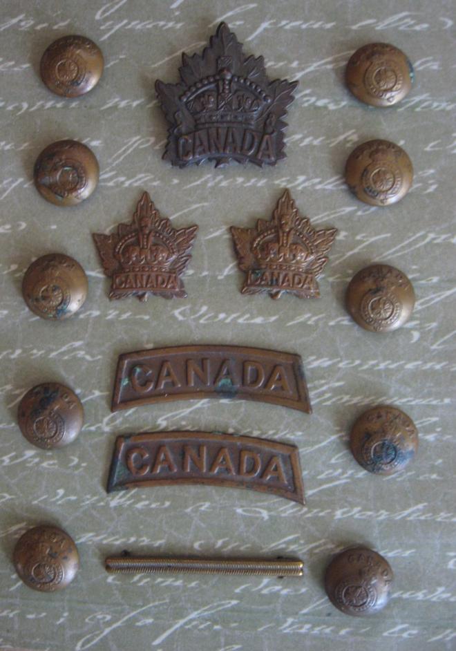badges et chevrons canadiens Collec15