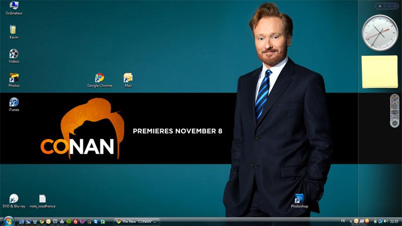 [ Inutile ] Montrez nous votre bureau ! - Page 6 Conan10