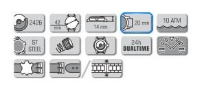 bracelet pour vostok europe n1 N110