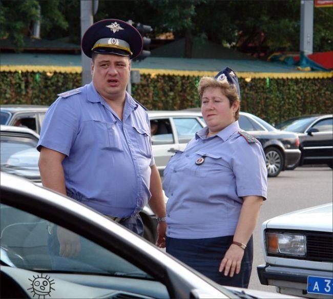 La Russie insolite Police10