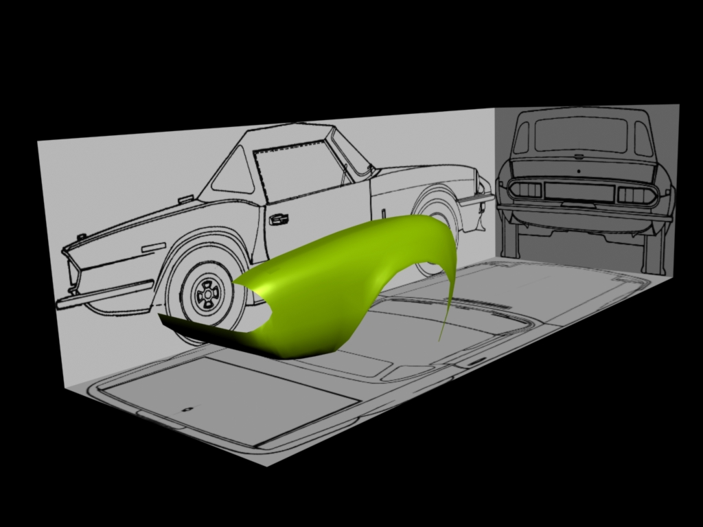 My second project is...Triumph Spitfire Car210