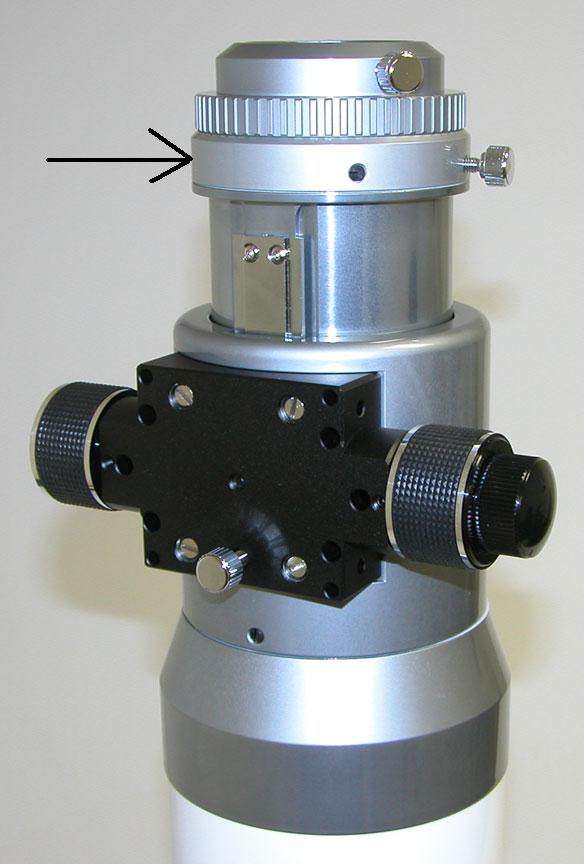 Cherche solution pour visser CCD+aplanisseur sur porte-oculaire At111e10