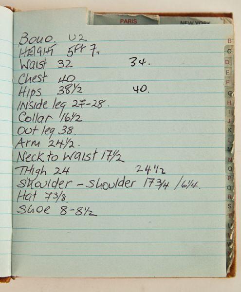 U2: altezze, misure e dintorni di Bono & C... - Pagina 9 Bono-m10