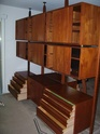 Poul Cadovius 'Royal System' wall unit Teak_c11