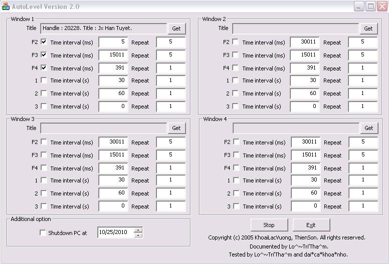 AutoLevel Version 2.0  Untitl10