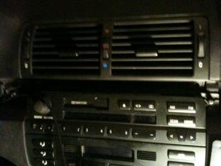 [ BMW E46 330D an 2001 ] pas de chauffage sur console centrale Photo14