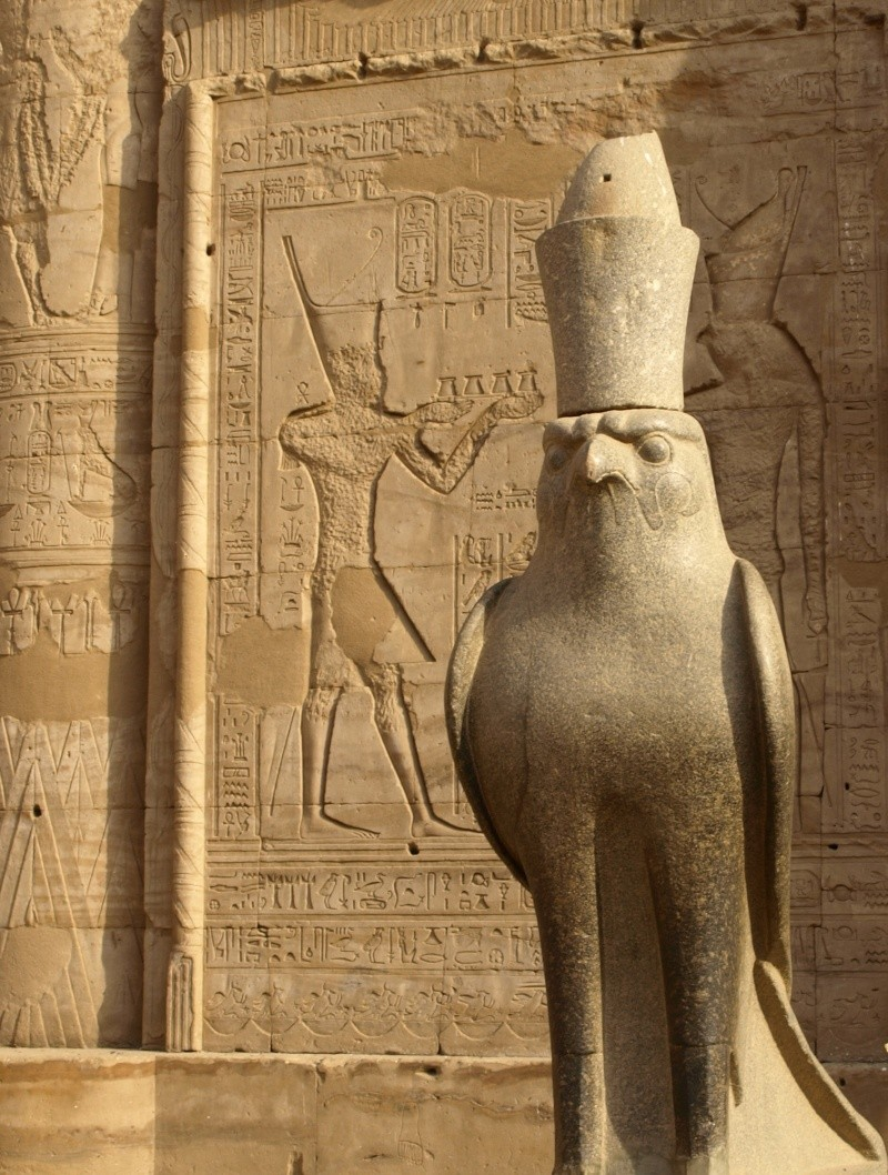 Egypte - Temple d'Edfou Egypte16
