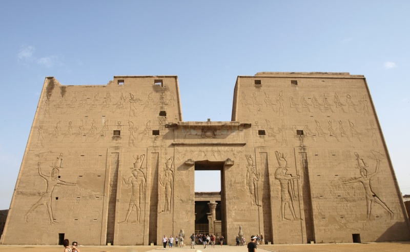 Egypte - Temple d'Edfou Egypte19