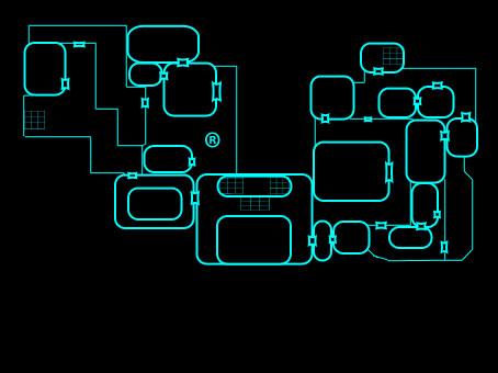 Mapa da Mansão Spencer 2a_and10